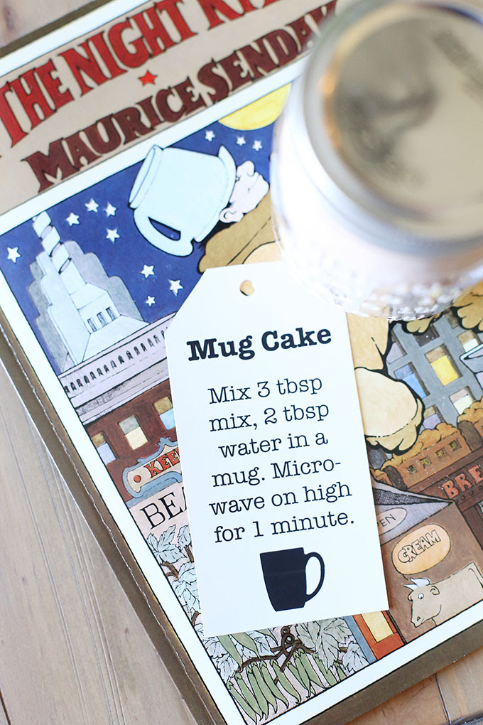 Easy Chocolate Mug Cake Mix Jar Gift Idea for Christmas ...