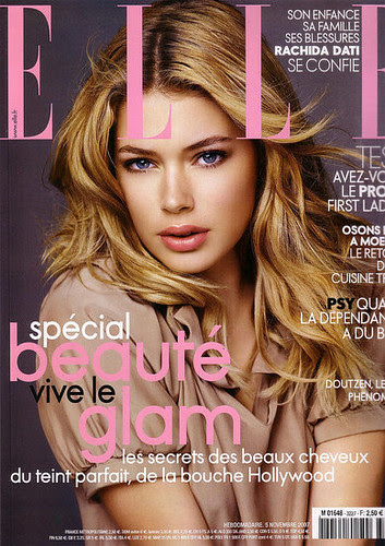 Doutzen Kroes Elle Magazine by Victoria´s Secret Show