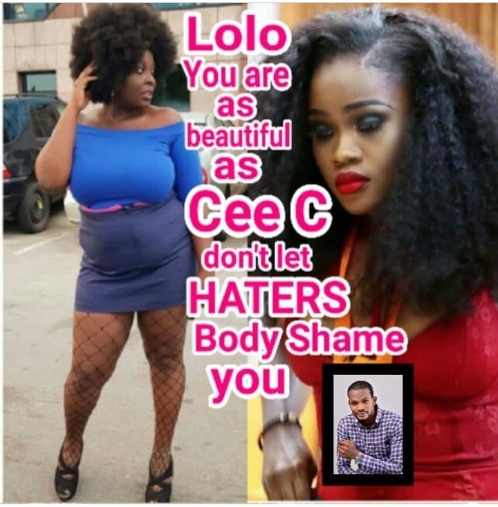 """Lolo You Are As Pretty As Cee-c, Don't Let Haters Get To You"" – Uche Maduagwu"