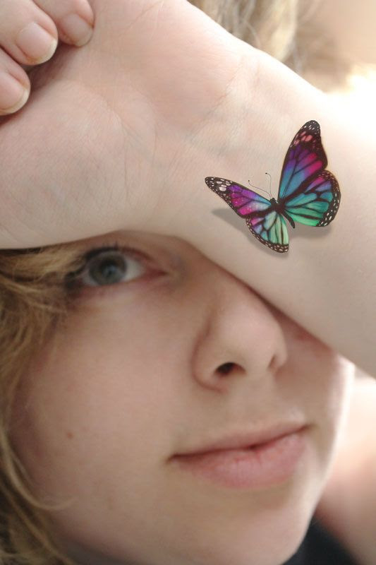 15 Latest 3d Butterfly Tattoo Designs You May Love Pretty Designs