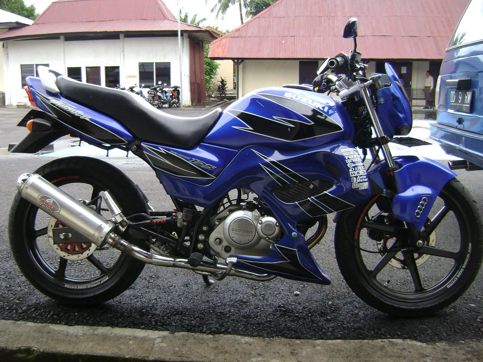 Foto-Foto Modifikasi Suzuki Thunder