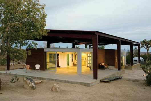 Sustainable Desert House Design - Recycled, Reused and Naturally ...