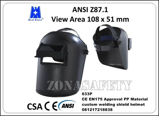 Blue Eagle 633p Welding Helmets Jual Welding Helmets Blue Eagle 633p Grosir Alat Safety Surabaya Distributor Sepatu Safety Sni
