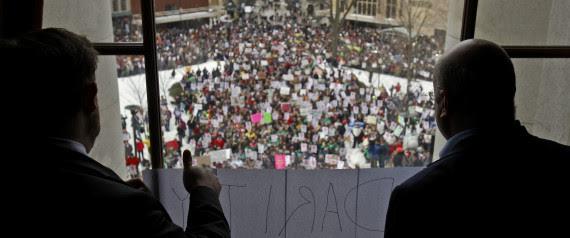 Wisconsin Protests Scott Walker