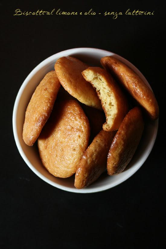biscotti limone olio