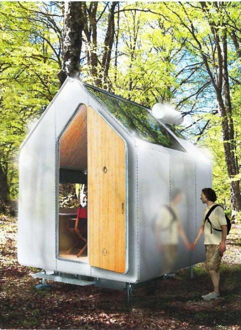 La casa più piccola del mondo: 6mq progettati da Renzo Piano