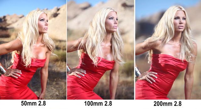 Creative Depth of Field Comparison of Different Lens Sizes