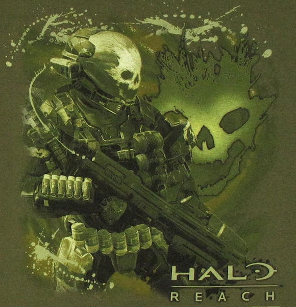 halo reach emile shotgun t shirt 11