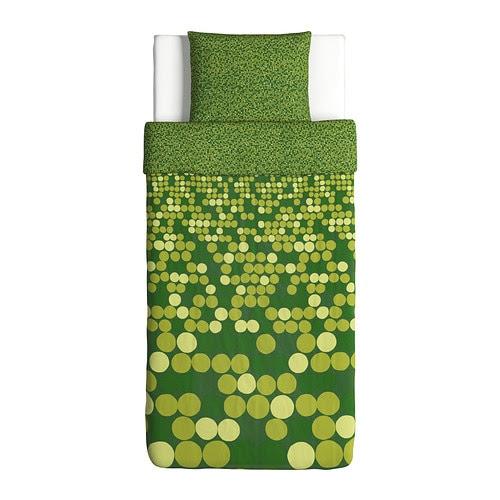 SMÖRBOLL Funda nórd y funda para almohada Más ofertas en IKEA Corchetes a presión ocultos.   El edredón se mantiene en su sitio.