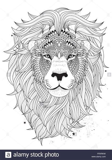 ausmalbilder erwachsene löwe  kostenlose malvorlagen ideen