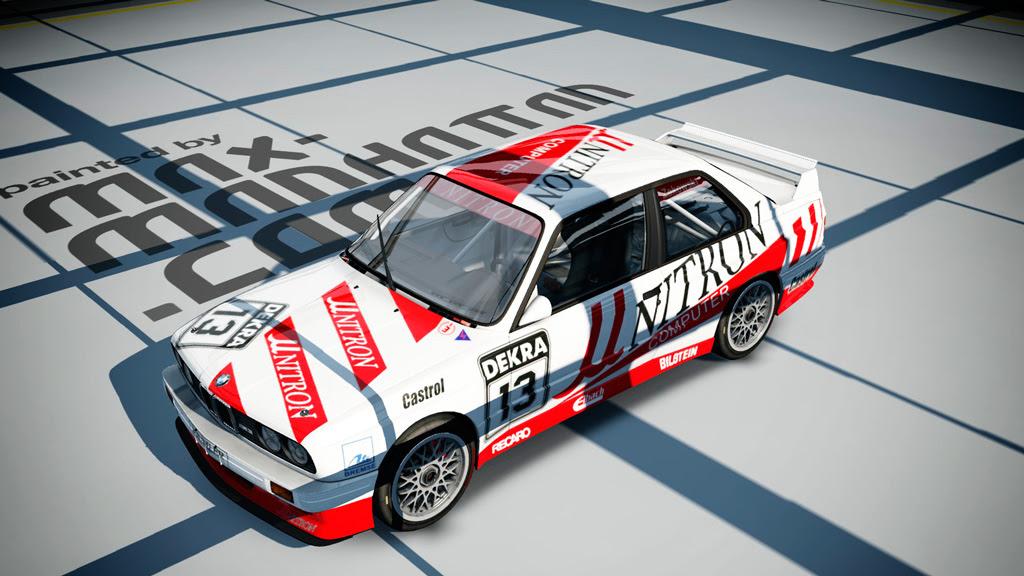 BMW M3 E30 Unitron DTM 1991 + 1992 Skin Pack | RaceDepartment