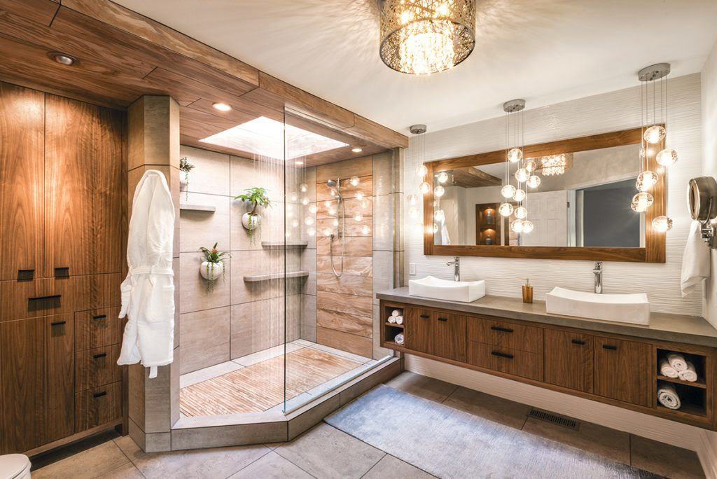 Mother Nature Inspires Master Bath | Kitchen & Bath Design ...