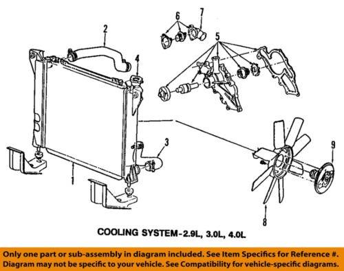1998 Ford Escort Cooling System Diagram