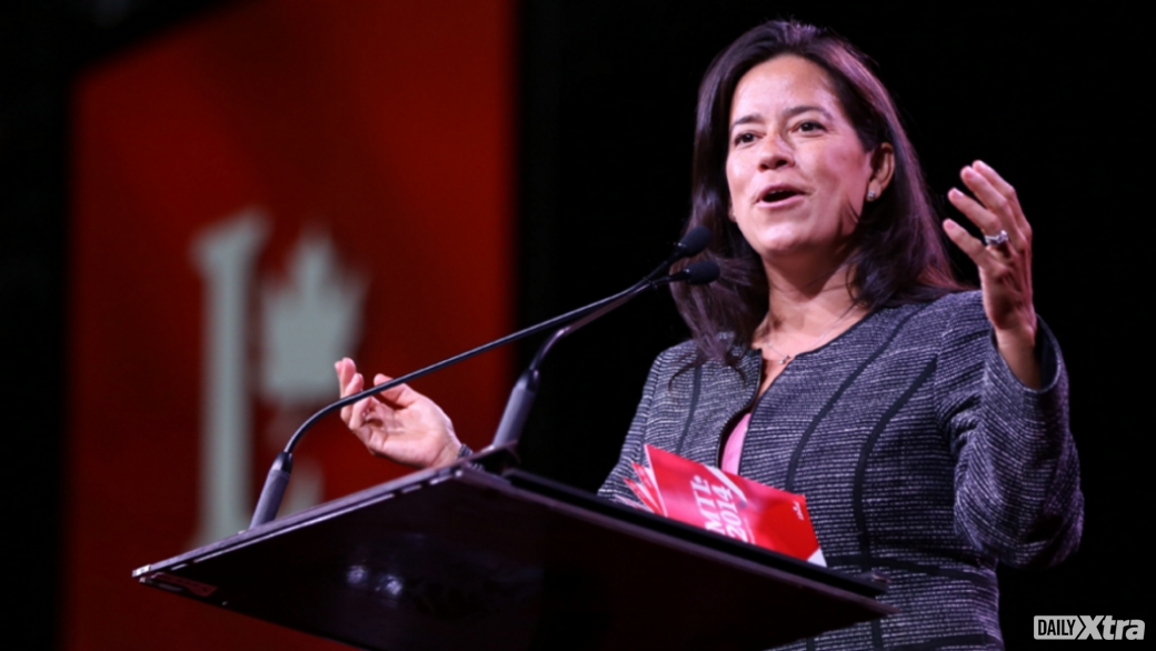 Justice Minister Jody Wilson-Raybould said she would push the Senate to pass Bill C-16, which&n...