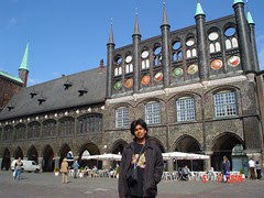Rathaus, Lübeck, Germany