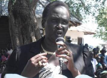 Rebecca Nyandeng de Mabior, a presidential advisor and former minister of roads in the Republic of South Sudan. She is the widow of the former SPLM leader John Garang. by Pan-African News Wire File Photos
