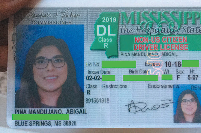 Ms Drivers License Application Form, Mississippi Has A Policy That Brands Immigrants Driver Licenses With The Words Non, Ms Drivers License Application Form