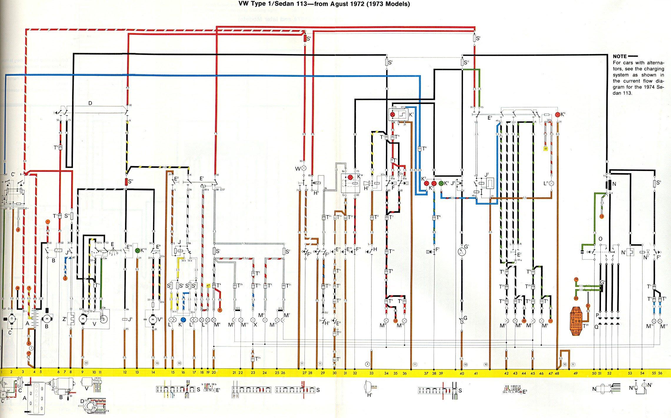 Diagram 6 Best Images Of 73 Vw Beetle Wiring Diagram Full Version Hd Quality Wiring Diagram Printkul Edilgress It