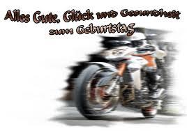 Geburtstagbpruch motorradfahrer