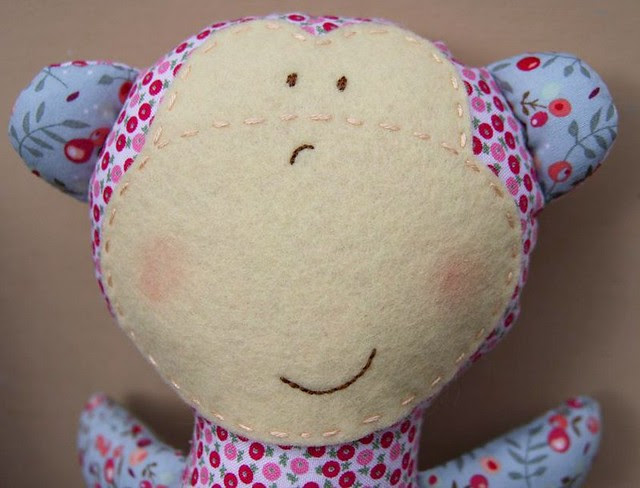 Monkey blush
