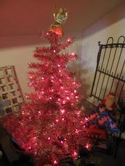 Pink Tree inside Tinsel Wonderland! 4