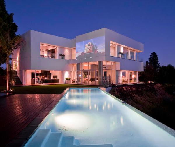 Custom Luxury Home Designs in California  design by Marc