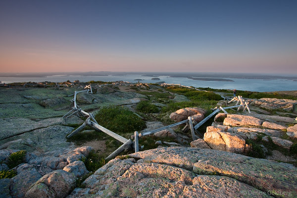 late day light, Cadillac Mountain
