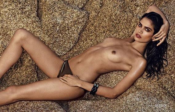 A modelo portuguesa Sara Sampaio partilhou nas redes sociais esta bela imagem, selecionada entre as fotos de uma produção que protagonizou para o último número da revista francesa