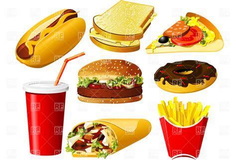 Fast Food Clip Art (id: 62237) Buzzergcom, fast food