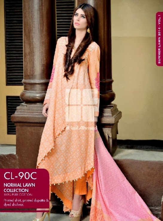 Girls-Wear-Summer-Dress-Chunri-Prints-Block-Prints-Embroidered-Single-Lawn-New-Fashion-Suits-by-Gul-Ahmed-7