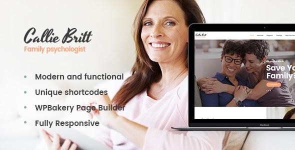 Callie Britt v1.0.1 - Family Counselling Psychology Theme