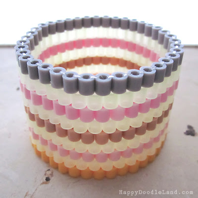 Beaded Stripy Bracelet