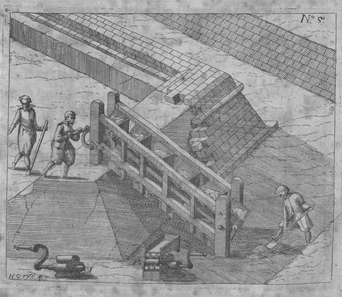 Heinrich Zeising - Theatri machinarum Erster - 1613 j