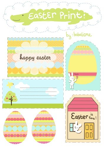 Babalisme easter gift tags printables is here negle Gallery