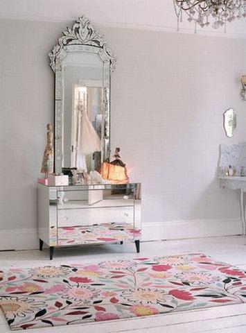 Dressing Table Mirror Vd Pi 677 Venetian Design 100 Heart Made