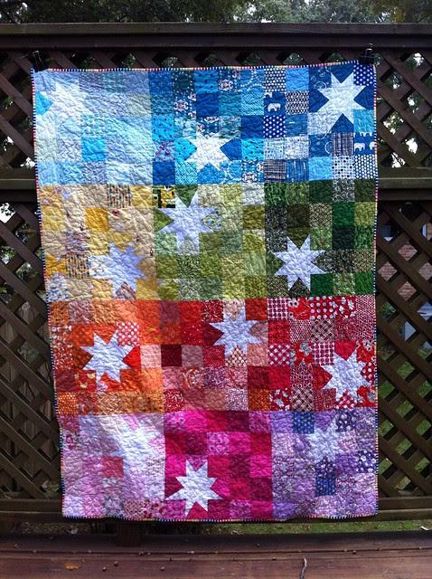 Rainbow stars for do. Good Stitches
