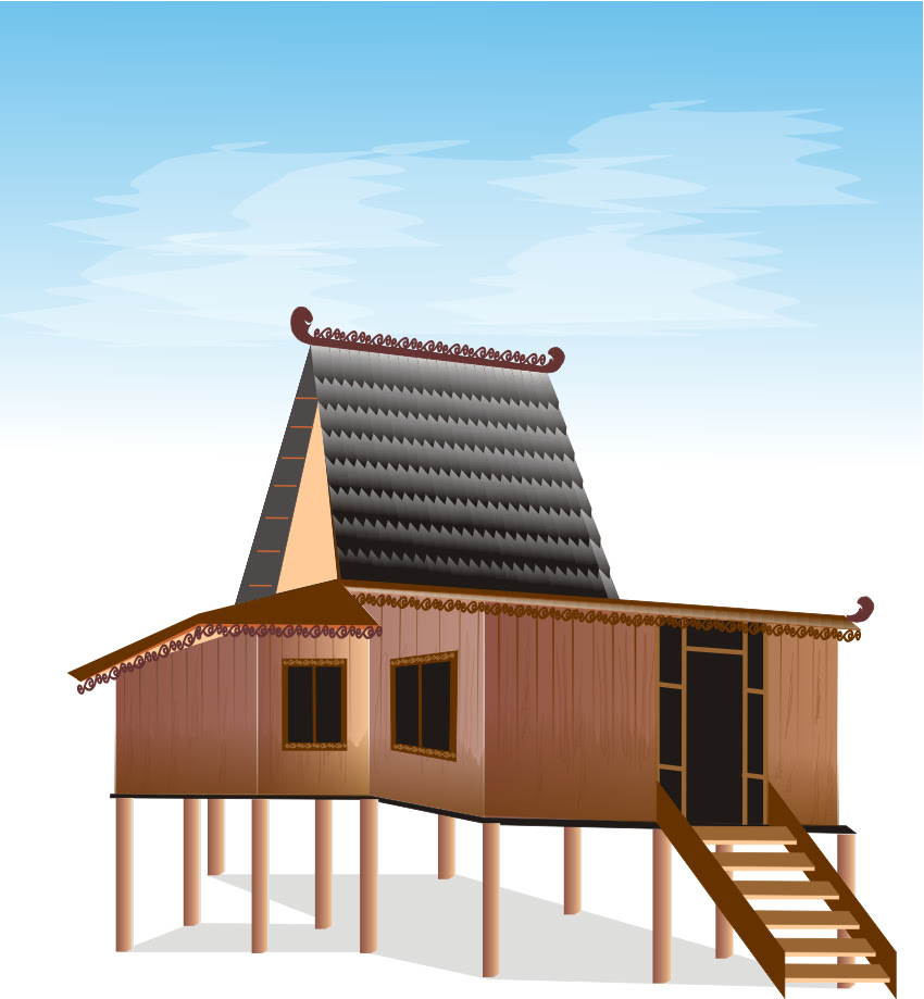 Type Of House Rumah Banjar Bubungan Tinggi