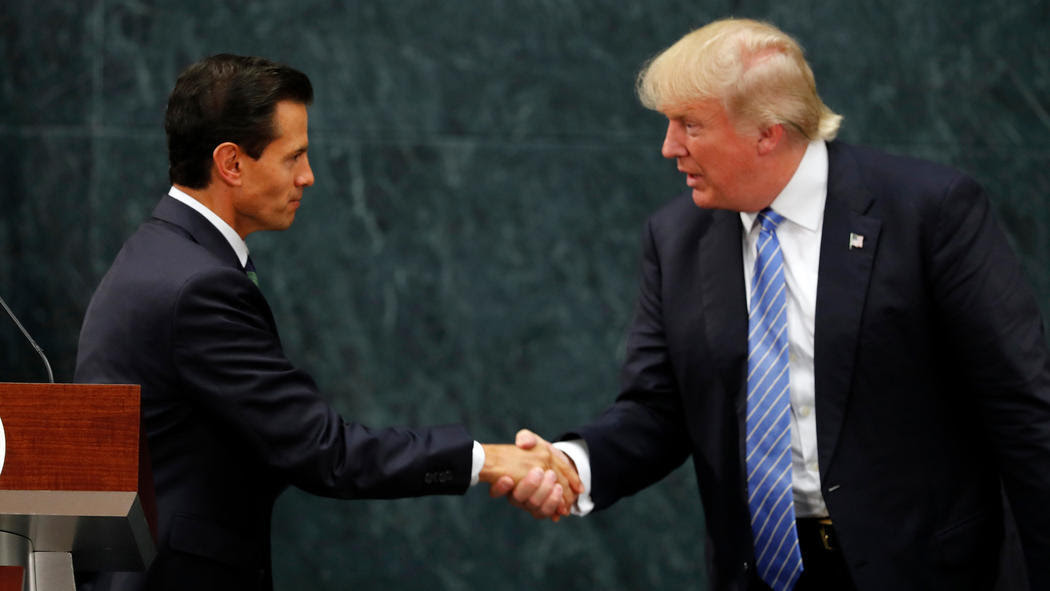 Image result for trump mexico president