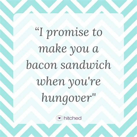 Funny and Realistic Wedding Vows   hitched.com.au