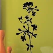 reusable wall stickers Flora101 removable wall stickers