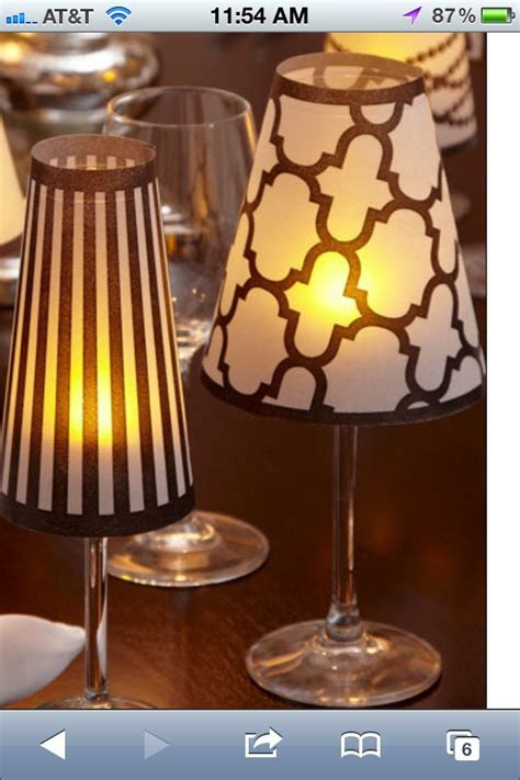 1000  images about Vellum Shade/Stemware Lamp on Pinterest