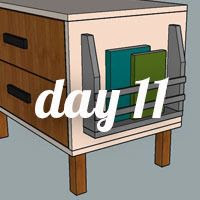 DIY Nightstand Day 11