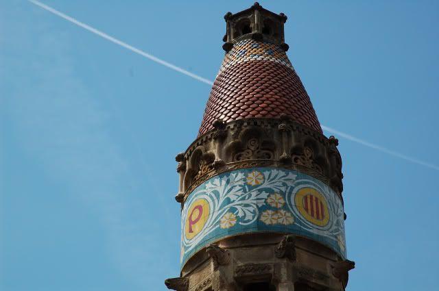 Sant Pau Hospital: Tower [enlarge]