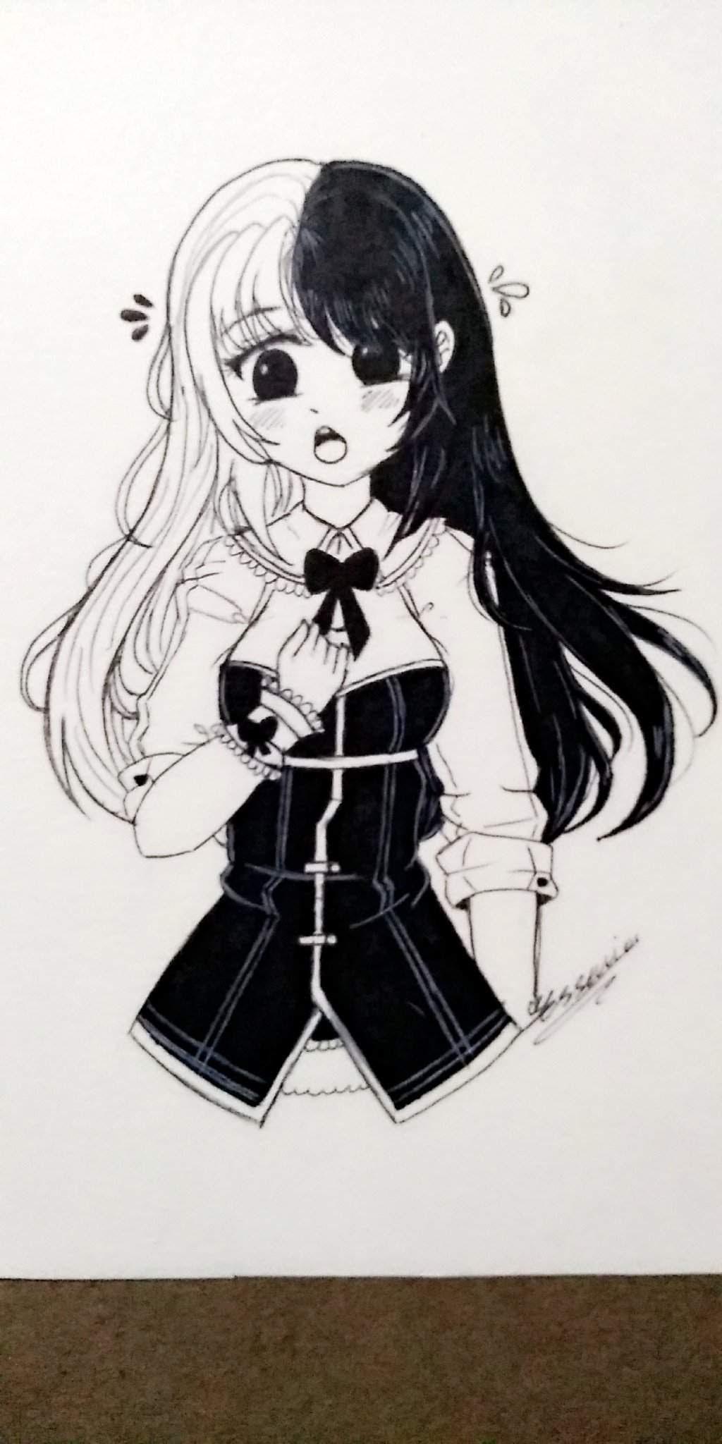 Dibujo Blanco Y Negro 2 Dibujos Y Animes Amino