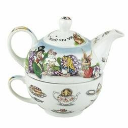 Alice In Wonderland Tea For One Teapot And Cup Cardew Design Holiday