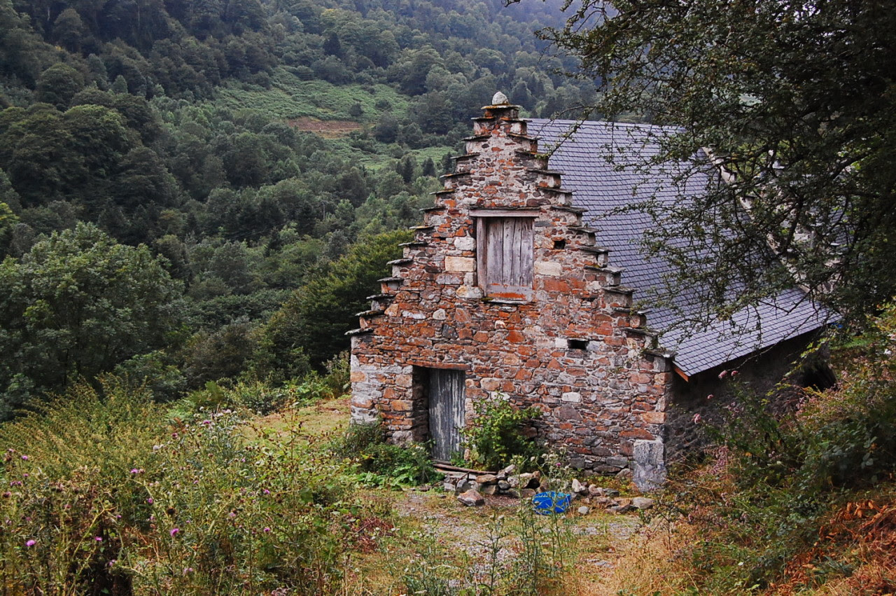 Stone cottage in the foothills of the Pyrénées near Tarbes, France Submitted by Jessie Levene.