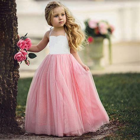 girls princess party wedding bridesmaid tutu dresses