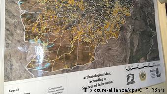 Σύμφωνα με τον νέο χάρτη ευρημάτων υπάρχουν περισσότερες από 5000 ιστορικές τοποθεσίες στο Αφγανιστάν.