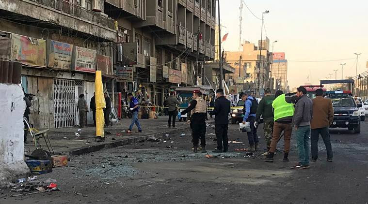 Double suicide bombing in Baghdad kills at least 38 people