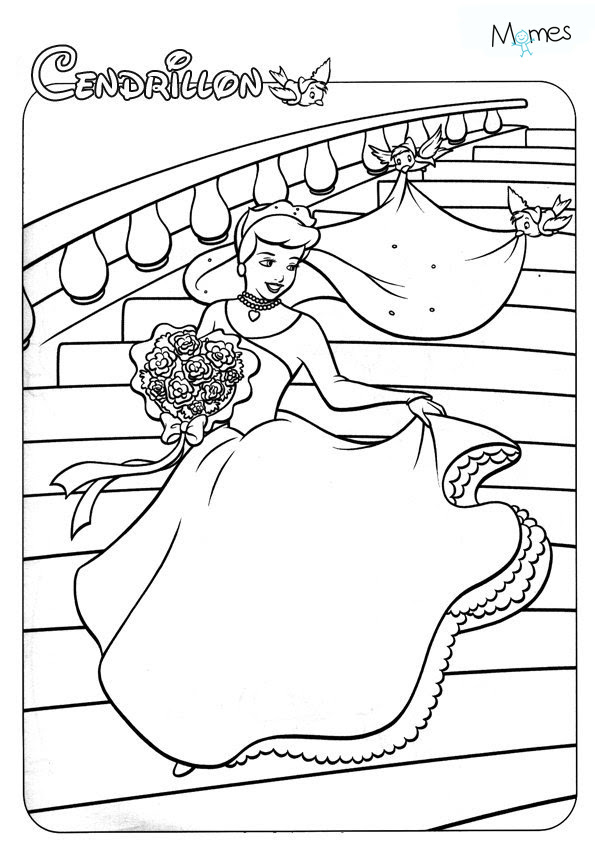 Coloriages Disney Princesse Coloriage Princesse Momesnet